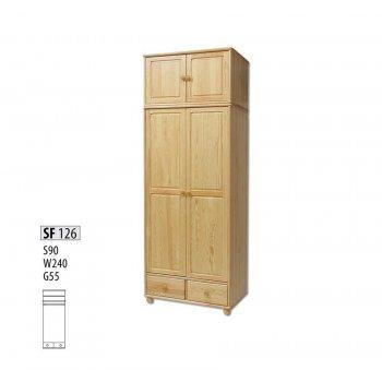 Шкаф двухстворчатый Витязь 126