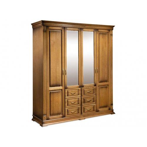 Шкаф четырехстворчатый Верди 105